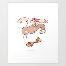 Twistflip Art Print