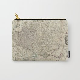 Russia And Poland 1730 Carry-All Pouch