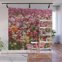 Carlsbad Flower Fields Wall Mural