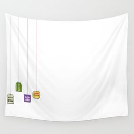 c[_] I love tea c[_] Wall Tapestry