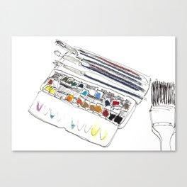 atelier I Canvas Print