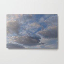 Cloudy 2 Metal Print