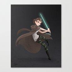 Becky Jedi Canvas Print