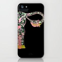 Morning Glory Terrarium iPhone Case
