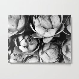 Artichokes, Food market, Groningen Metal Print