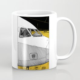 asc 698 - Le tarmac la nuit (Your flight was delayed due to technical problems) Coffee Mug
