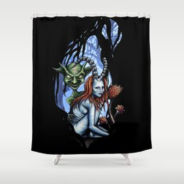Creatures of the Forest Shower Curtain