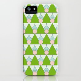 Green Angels iPhone Case