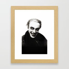 The Men Who Laugh Framed Art Print