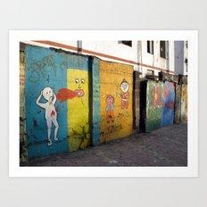 Street Art Bombay III Art Print
