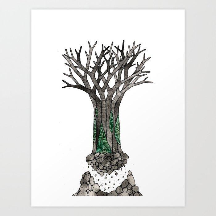 Tree01 Art Print