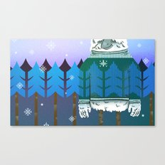 Forest Camo Canvas Print
