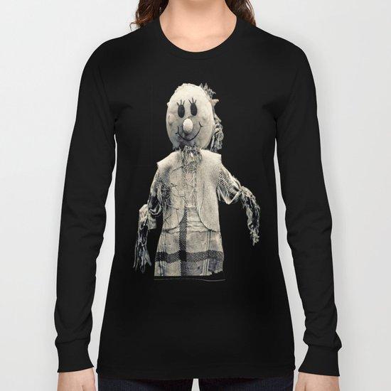Cemetery smiley face Long Sleeve T-shirt