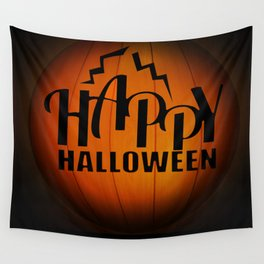 Happy Halloween  Wall Tapestry