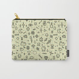 Doodles Pattern Carry-All Pouch