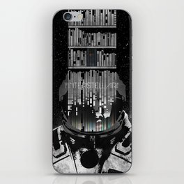 Interstellar Poster iPhone Skin