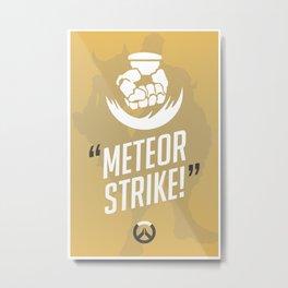 Ultimate Quote - Doomfist Metal Print