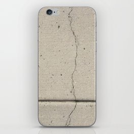 Real, Concrete, not Abstract iPhone Skin