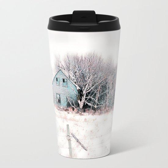 Tattered Curtains Metal Travel Mug