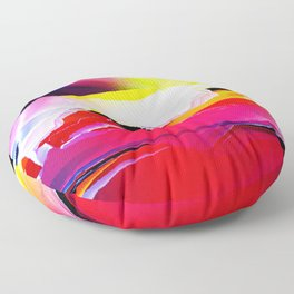 At the Speed of Sound Floor Pillow
