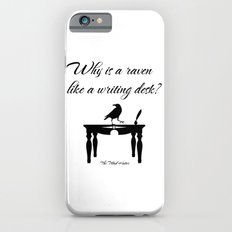 Alice In Wonderland Why Is A Raven Like A Writing Desk Slim Case iPhone 6s