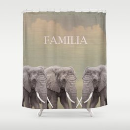 FAMILIA Shower Curtain