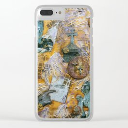 Behold the Lion Clear iPhone Case