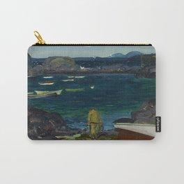 The Harbor, Monhegan Coast, Maine, 1913 Carry-All Pouch