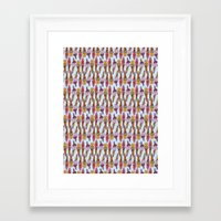 icecream Framed Art Prints featuring ICECREAM by Jane Houghton
