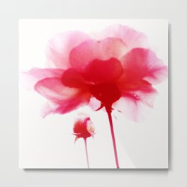497 - Red Roses abstract Metal Print