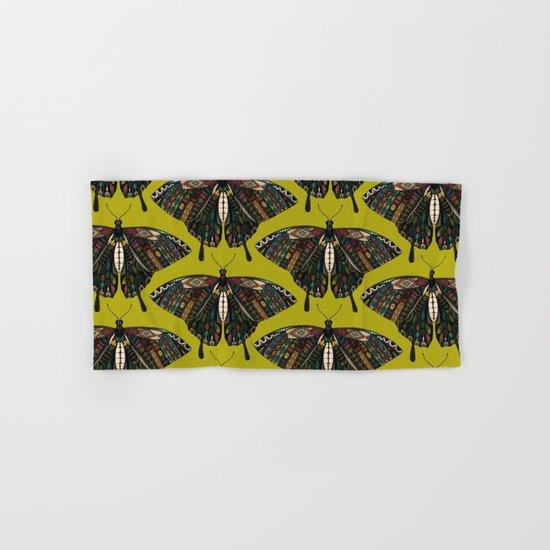 swallowtail butterfly citron Hand & Bath Towel