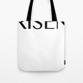 Basic Black Logo Tee, Jackets And Jumpers Tote Bag