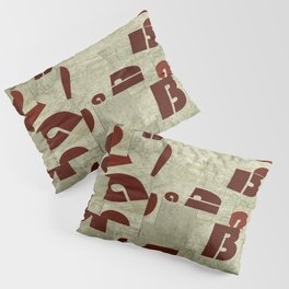 Absract Collage Pillow Sham