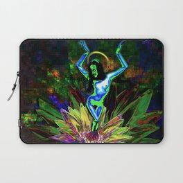 St. Mary of the Lotus (Sta. María de el loto) Laptop Sleeve