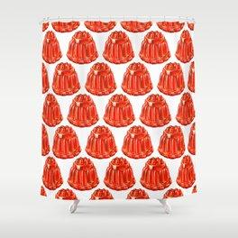 Jello Pattern Shower Curtain