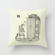'There You Are!' Throw Pillow