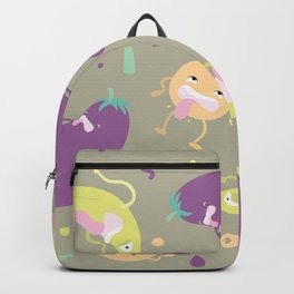 Silly Produce Party Backpack