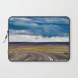 Purple road Laptop Sleeve