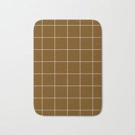Minimal_LINES_EARTH Bath Mat