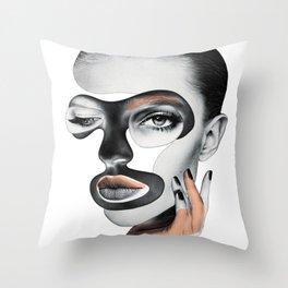The Temptress Throw Pillow
