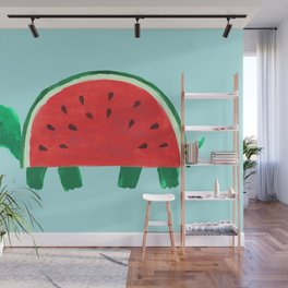 Slow Day Wall Mural