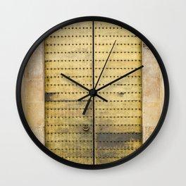 Golden Door Wall Clock