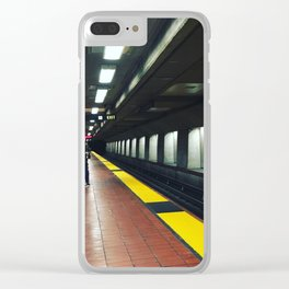 Castro Train Clear iPhone Case