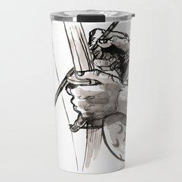 "Capoeira 482 ""Berimbau"" Travel Mug"