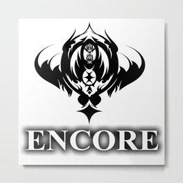 ENCORE Metal Print