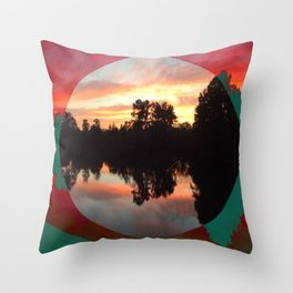 Artisan's view cleared Throw Pillow