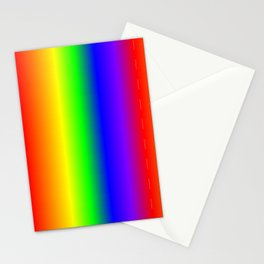 Rainbow Gradient Stationery Cards