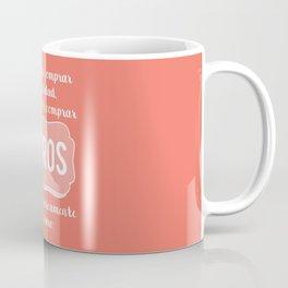 Libros = Felicidad (Casi) Coffee Mug