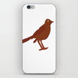 Bird Coffee iPhone Skin