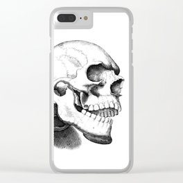 Smiling No Matter What Clear iPhone Case